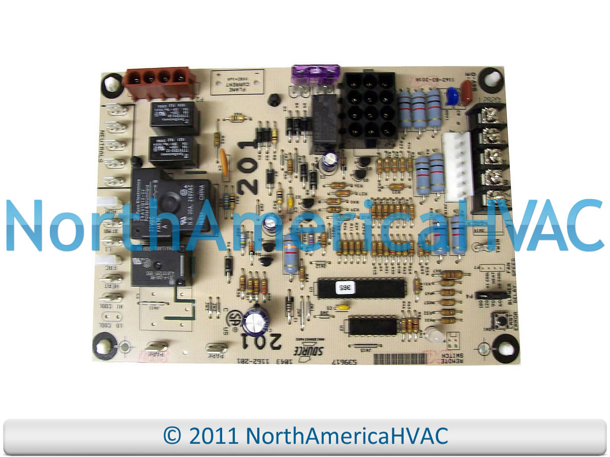 medium resolution of york luxaire coleman furnace control circuit board 031 01267 001 031coleman furnace wiring board 13