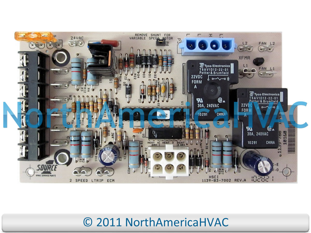 hight resolution of  diagram york luxaire cman furnace control board 031 01264 001 north
