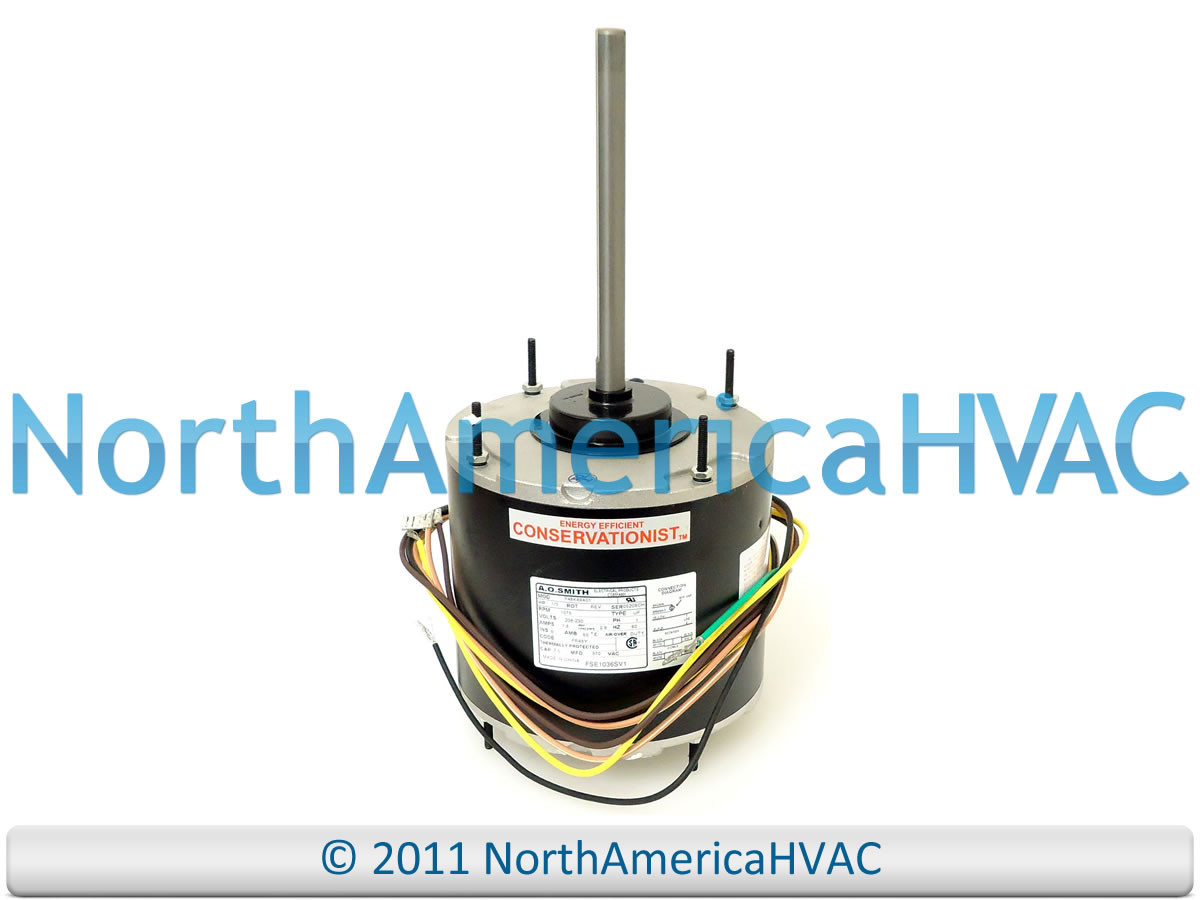 small resolution of a o smith universal condenser fan motor 1 3 hp 230 volt fse1036sv1 f48k89a01 loading zoom