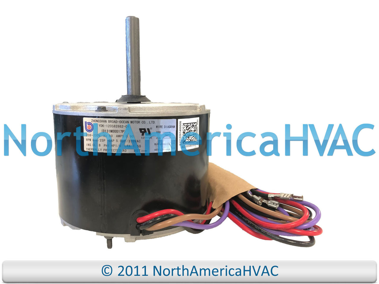 small resolution of oem goodman amana condenser fan motor 1 6 hp 208 230v 0131m00017ps 0131m00017psp north america distribution sellersburg heating