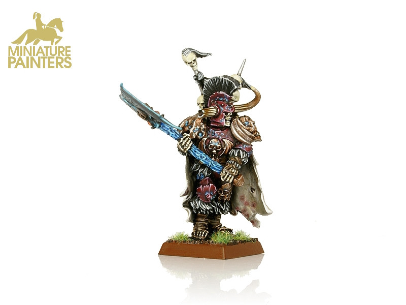 Deathrattle Wight King With Black Axe Miniature Painters