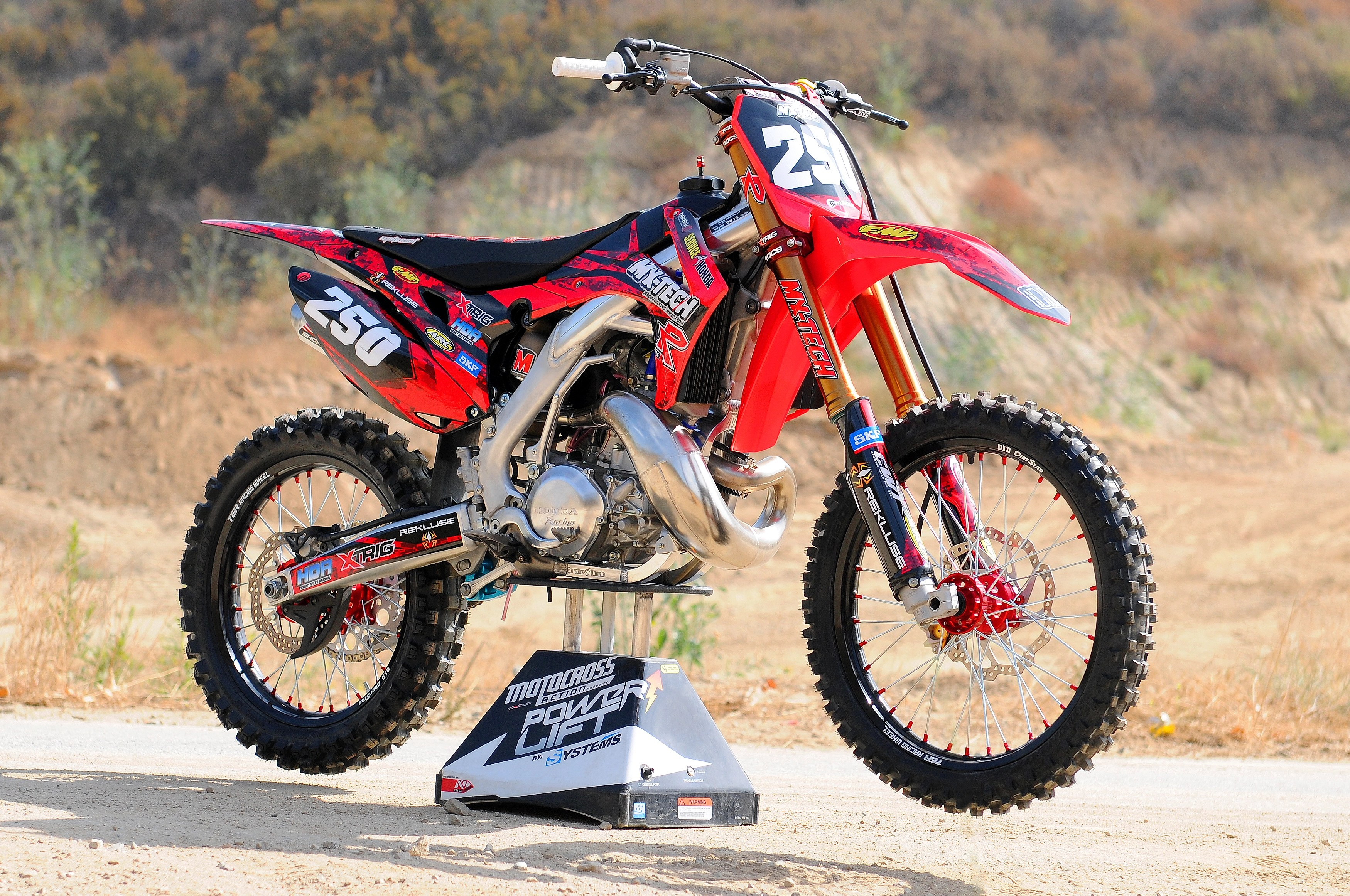 hight resolution of mxt cr250 project bike