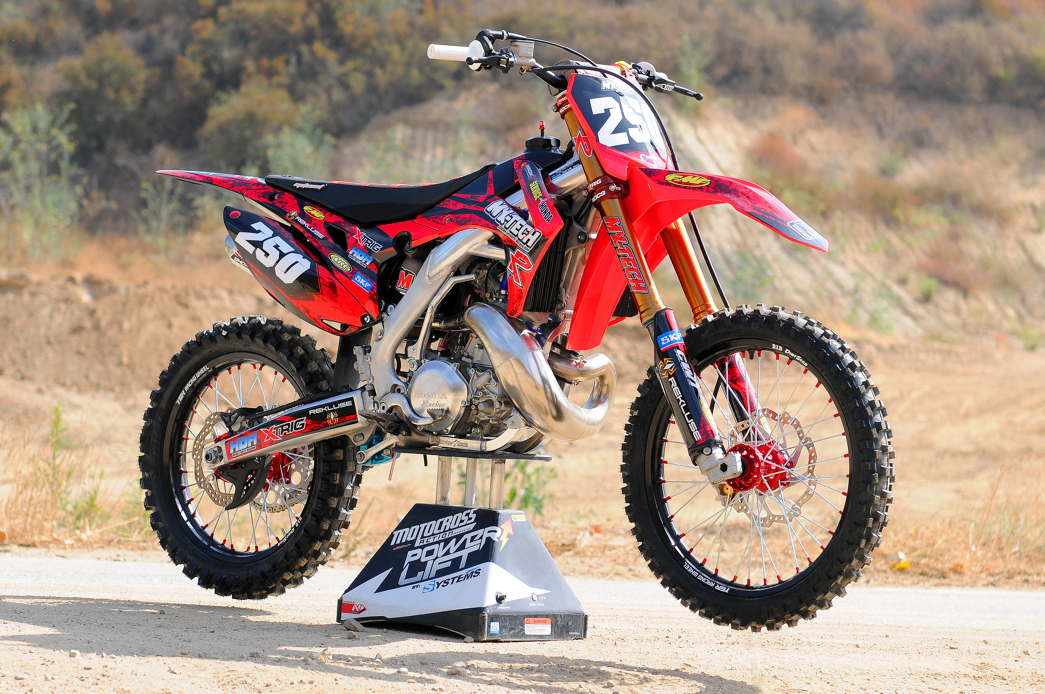 small resolution of mxt cr250 project bike