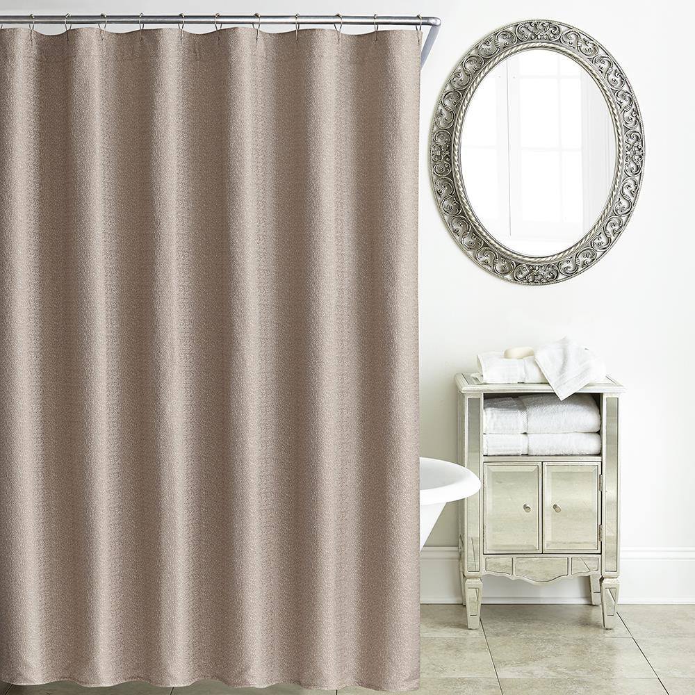 tory rose gold shower curtain