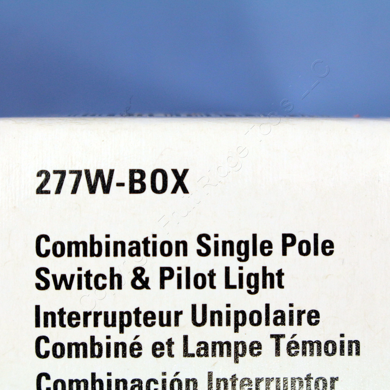 Shop Cooper Wiring Devices 30amp White Single Pole Light Switch At