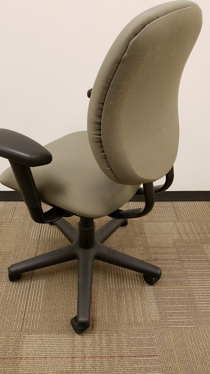 allsteel task chair cover vinyl used trooper fully adjustable work larger more photos