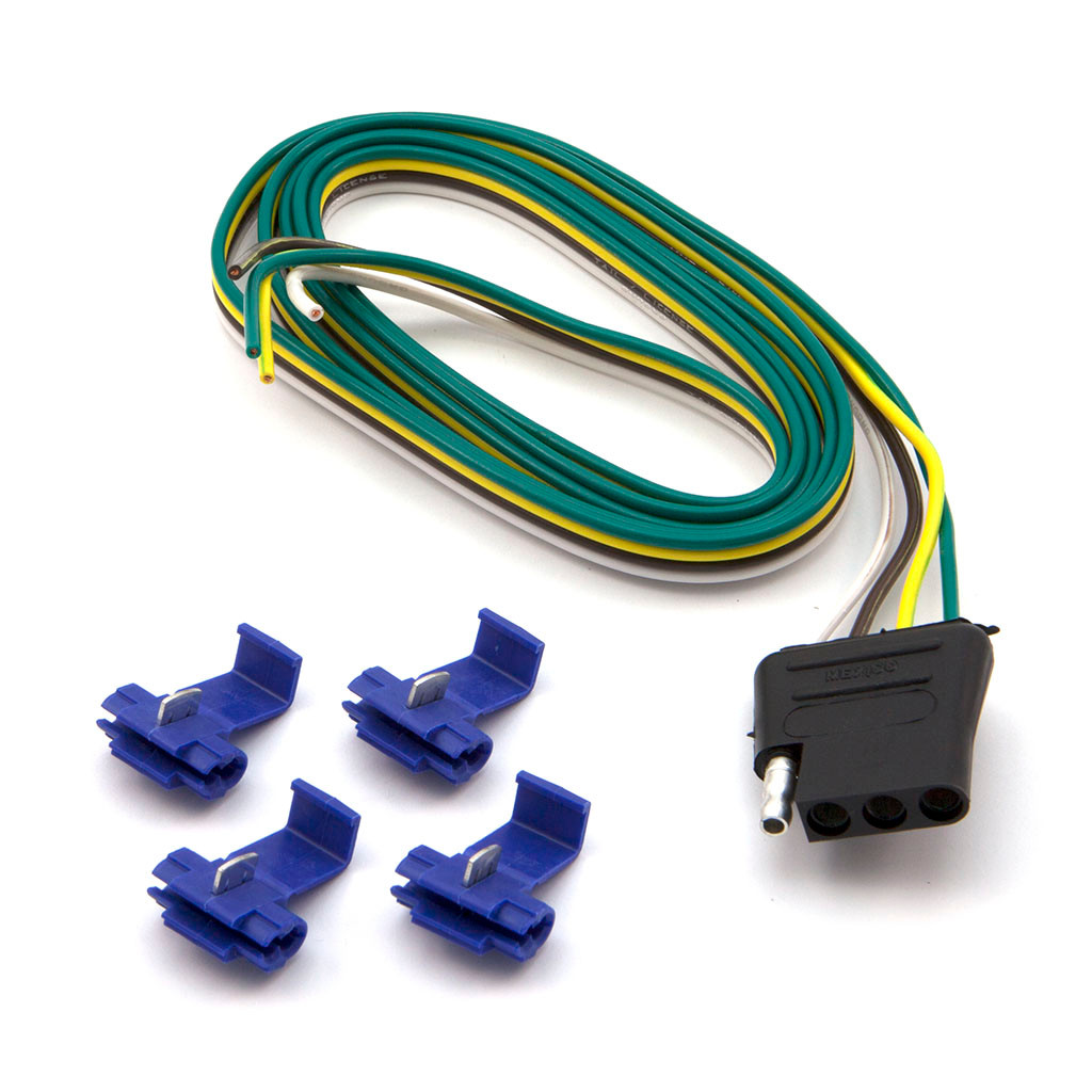 4 flat connector car end flat car end wiring connector [ 1024 x 1024 Pixel ]