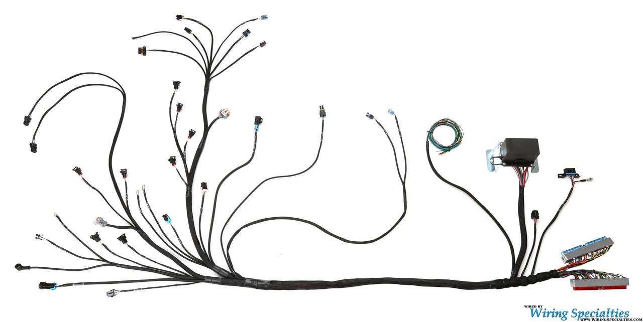 standalone ls1 wiring harness wiring specialties ls1 standalone wiring harness with 4l80e standalone ls1 swap wiring [ 1280 x 642 Pixel ]
