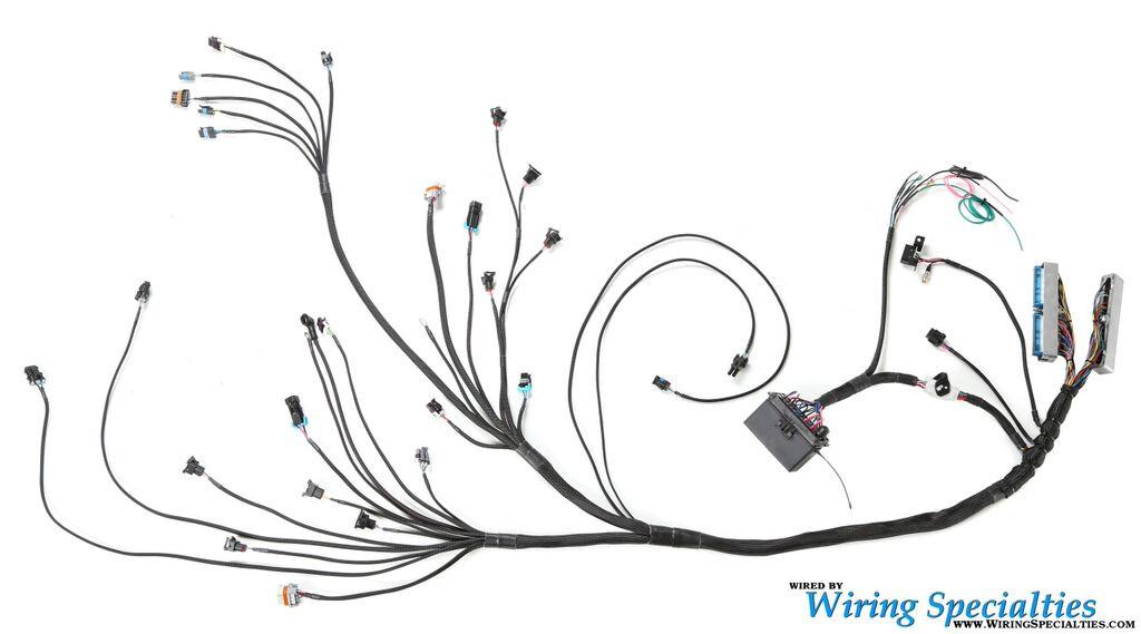 240z ls1 wiring harness