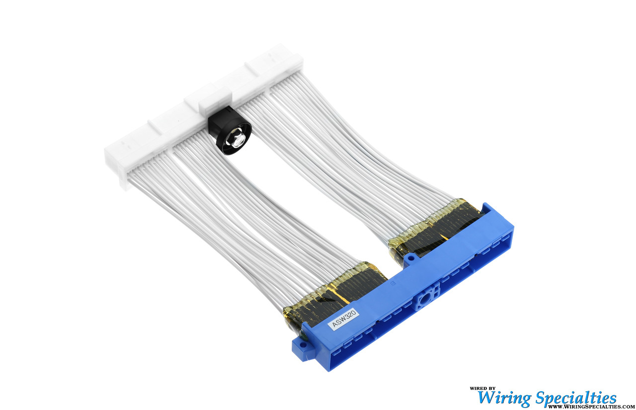small resolution of  vg30dett ecu wiring harness wiring specialties on wire retainer with tie spring retainers