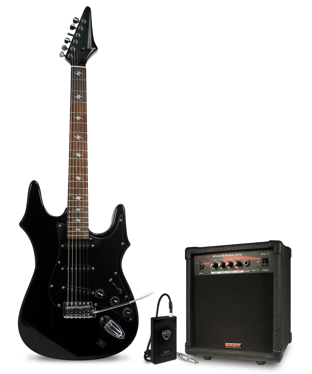 Lightning Wireless Guitar pack with Amp Discontinued