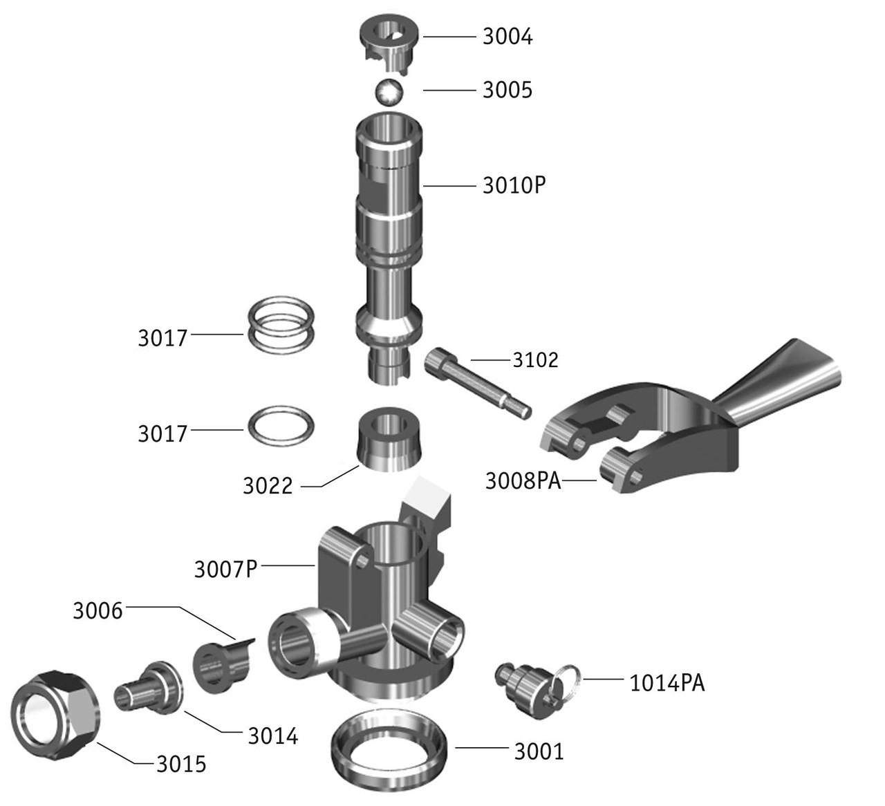 trailer coupler assembly diagram [ 1280 x 1166 Pixel ]