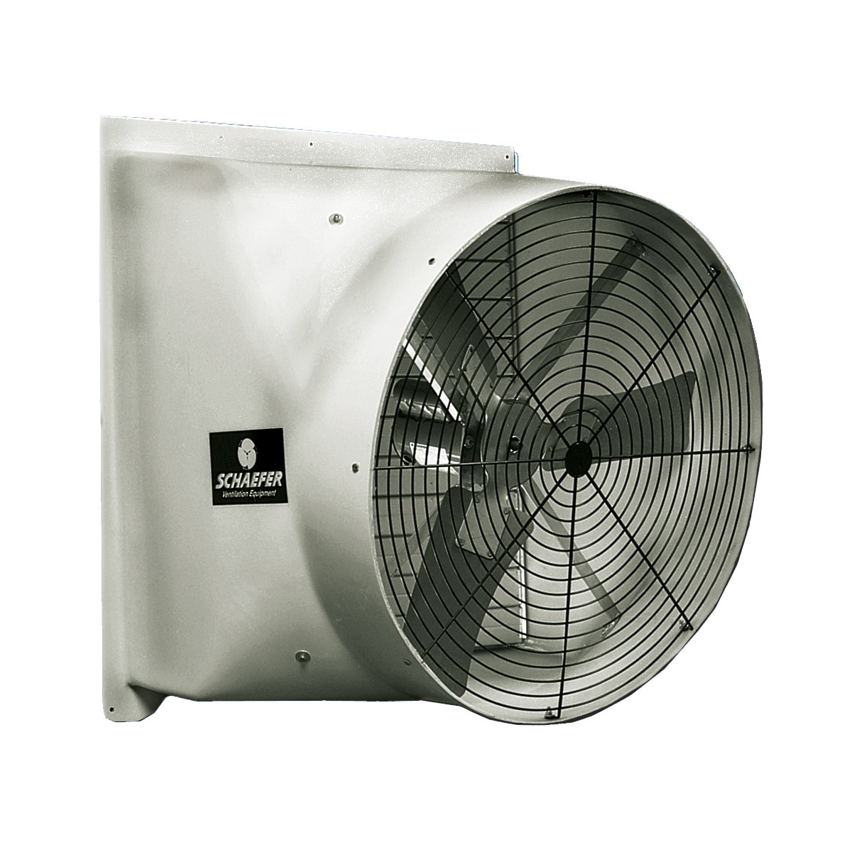 schaefer 36 48 fiberglass flush mount exhaust fans