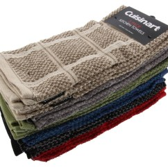 Kitchen Towels Wholesale Sinks Cuisinart Cotton Towel Two Tone Checkered Red 2 Ct Fireflybuys Com