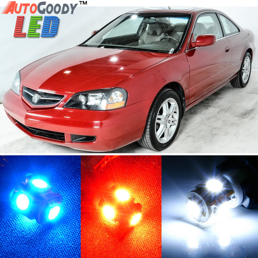 hover over image to zoom premium interior led lights package upgrade for acura cl  [ 1000 x 1000 Pixel ]