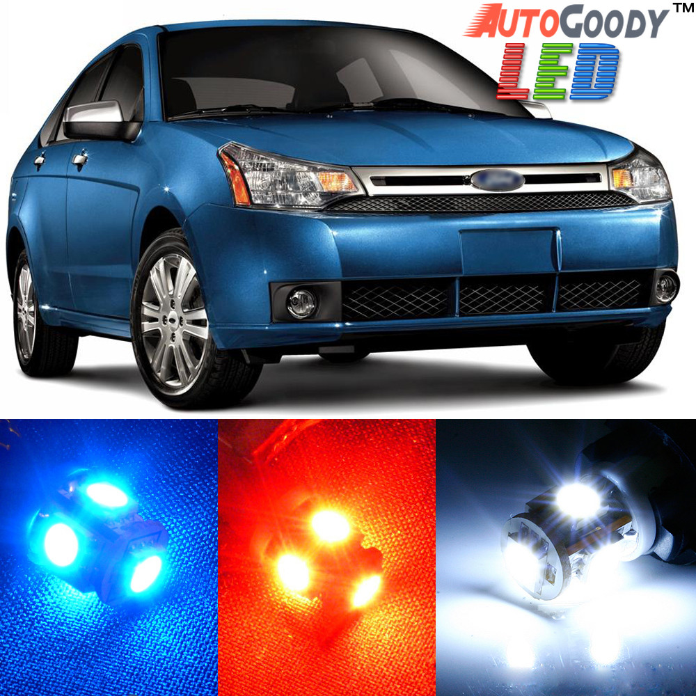 hover over image to zoom premium interior led lights package upgrade for ford focus  [ 1000 x 1000 Pixel ]
