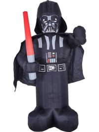 Inflatable Light Up Darth Vader