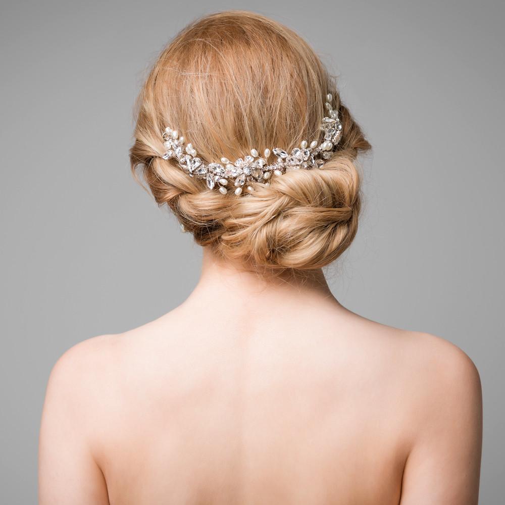 handmade daisy flower hair vine