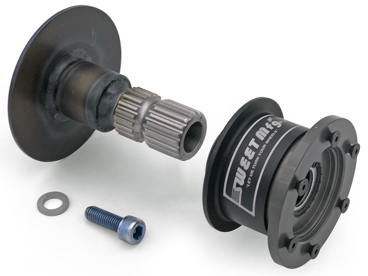 small resolution of jeep tj lj quick disconnect steering wheel hub adapter genright off road