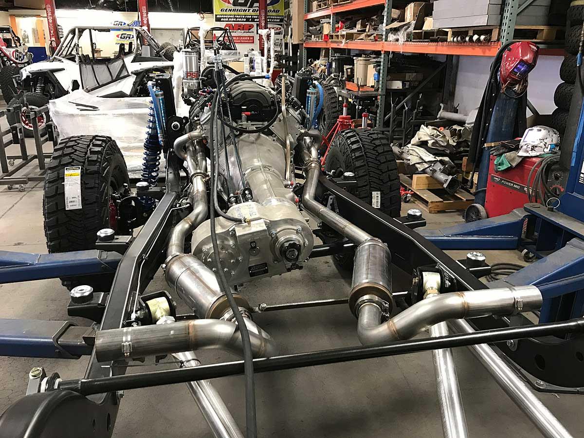 afe full exhaust system for tracer lj suspension