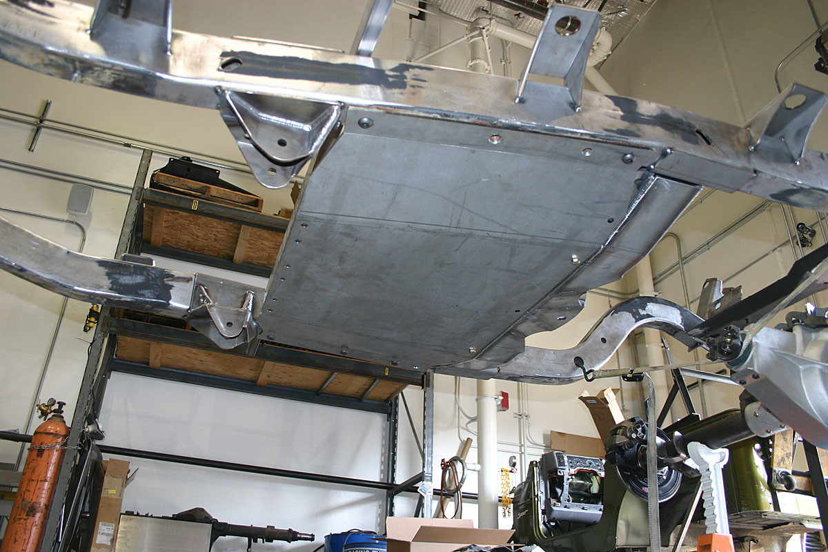 Tj Belly Up Skid Plate Aluminum Genright Jeep Parts