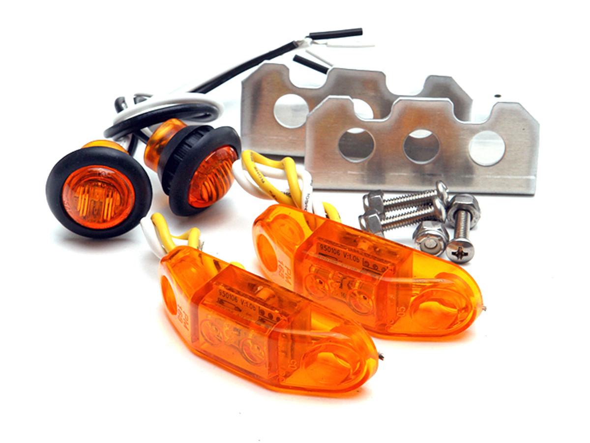 medium resolution of genright s led stealth side marker light kit