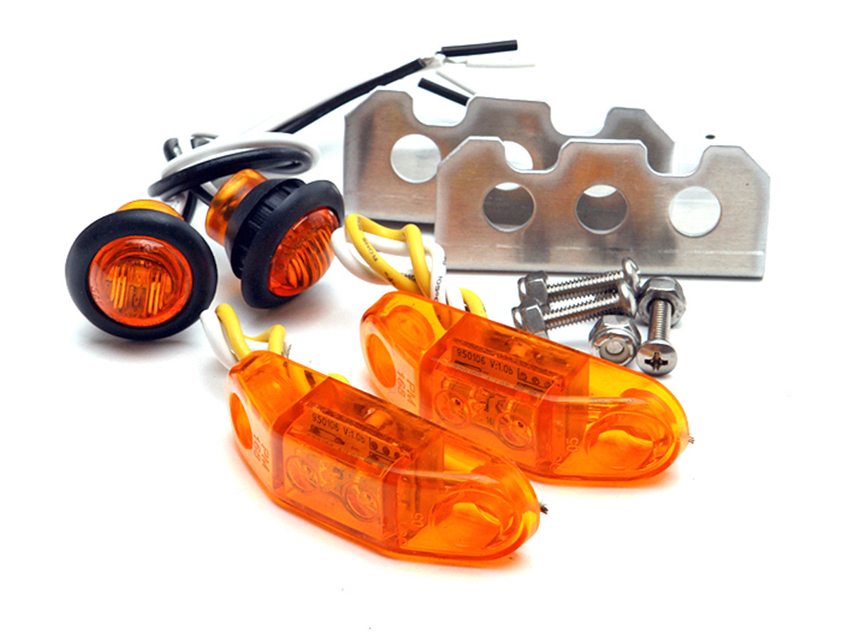 hight resolution of genright s led stealth side marker light kit