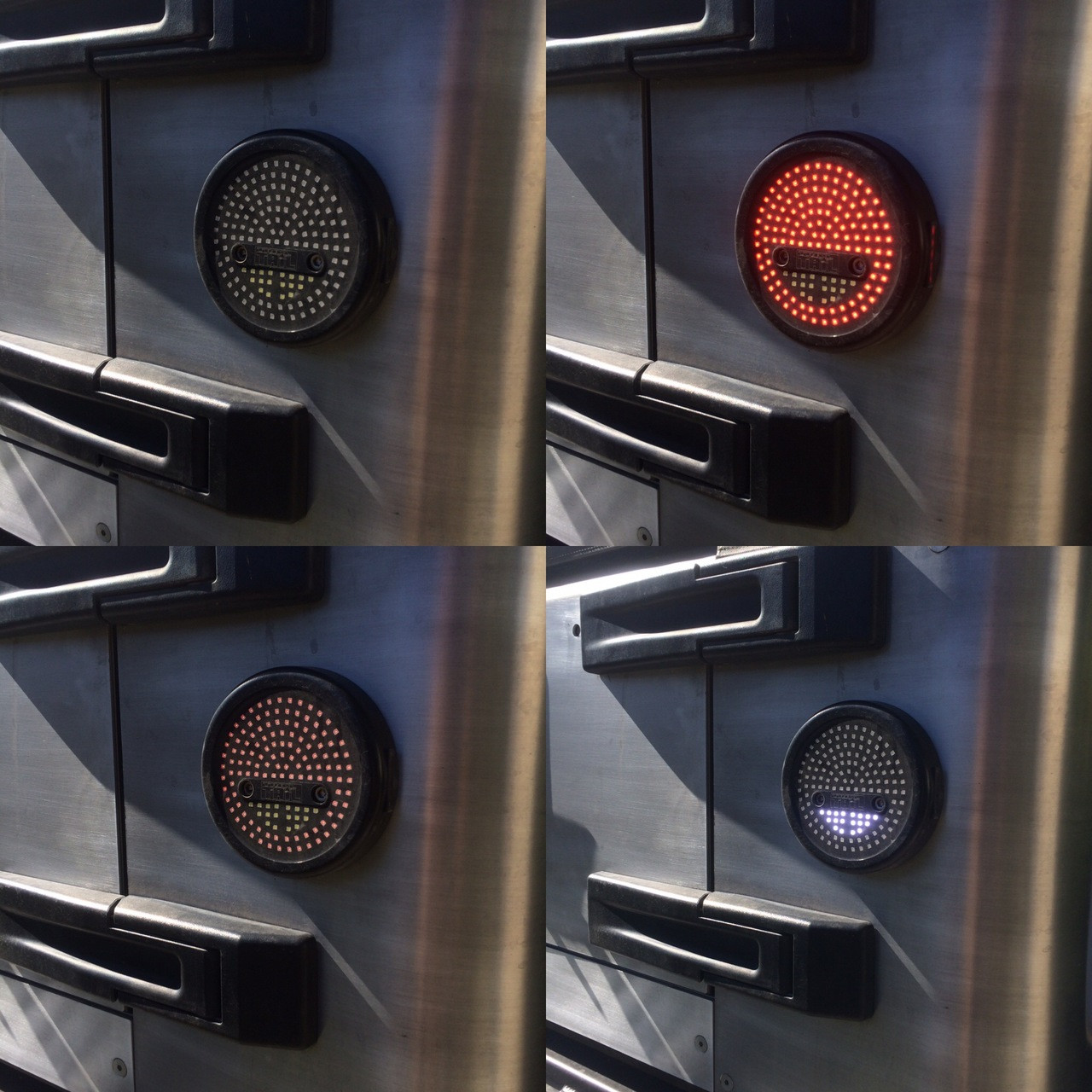 small resolution of shown here on the genright terremoto jk 4 stages on the led tail lights off stop running and reverse