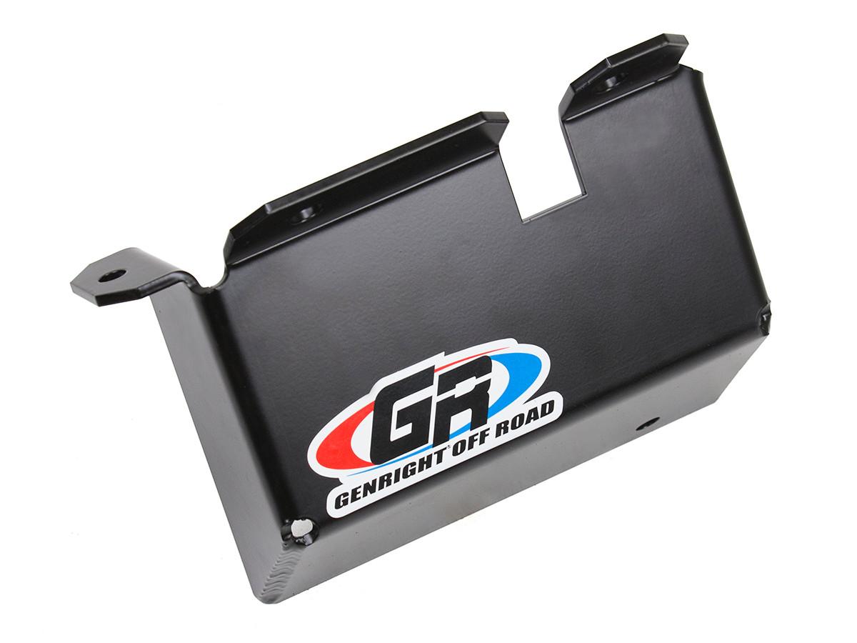 small resolution of jeep tj lj steering box skid plate