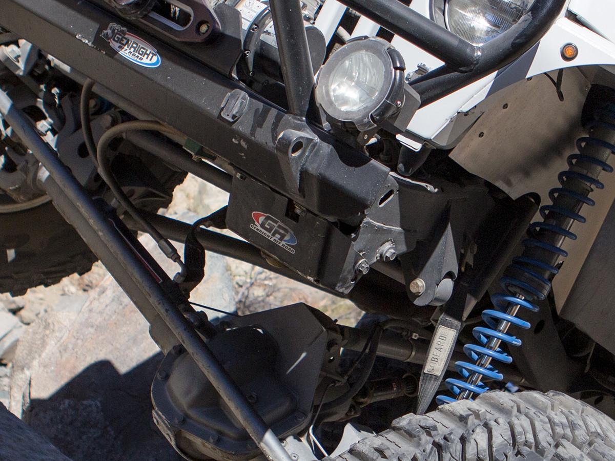 jeep tj lj steering box skid plate [ 1200 x 900 Pixel ]