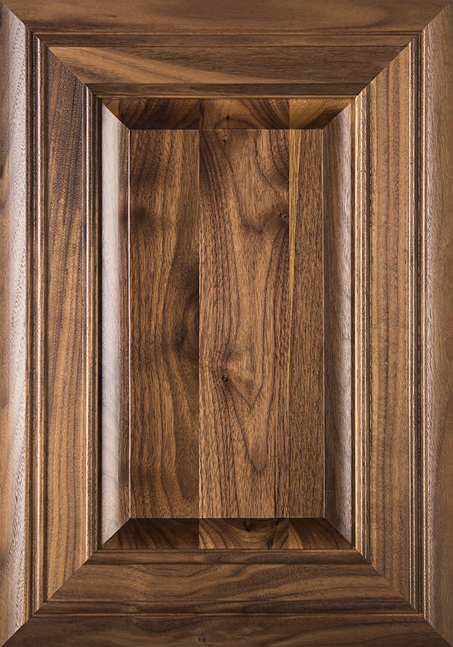 Arden Walnut Raised Panel Cabinet Door Finished