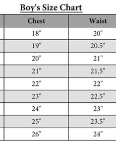 Boys size chartg also charts rh ckcpatterns