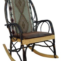 Amish Made Rocking Chair Cushions Chromcraft Table And Chairs Bentwood Rocker Cushion Set Apache Fabric