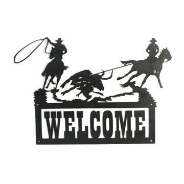 western cowboy team roper