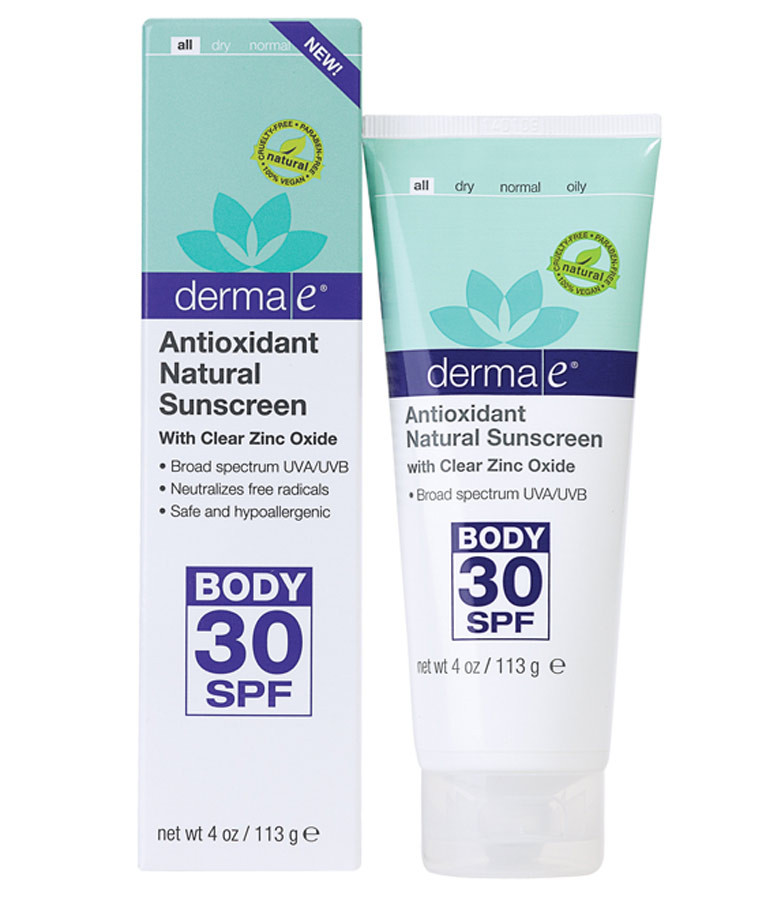 Buy Antioxidant Natural Sunscreen With Clear Zinc Oxide 30 ...