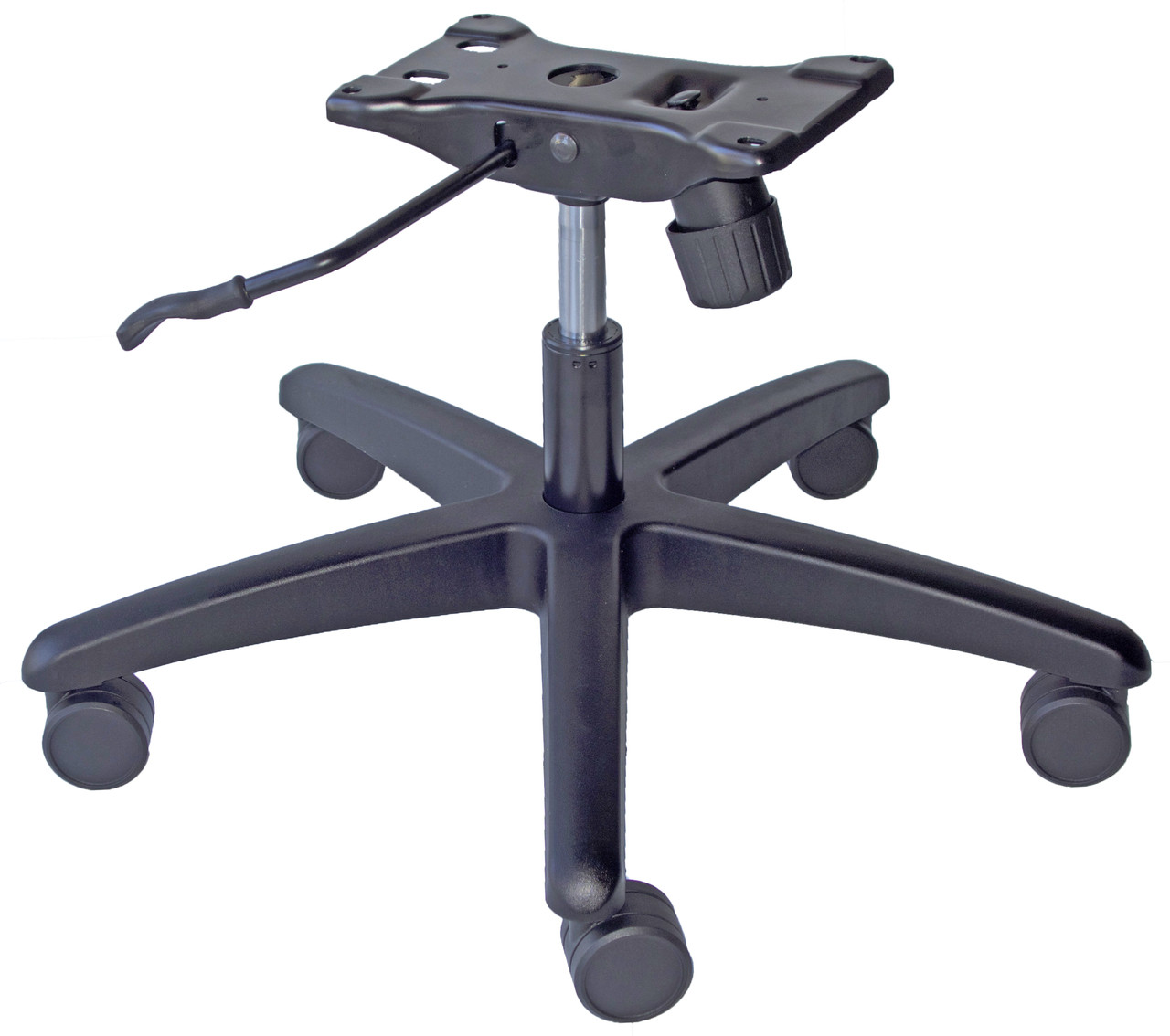 office chair steel base with wheels desk without super duty parts complete under seat kit image 1