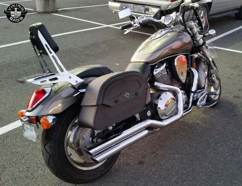 gary s honda vtx 1800 c w warrior series saddlebags  [ 1500 x 1152 Pixel ]