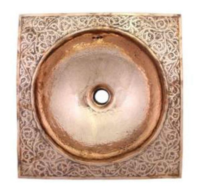 copper bathroom sink moroccan
