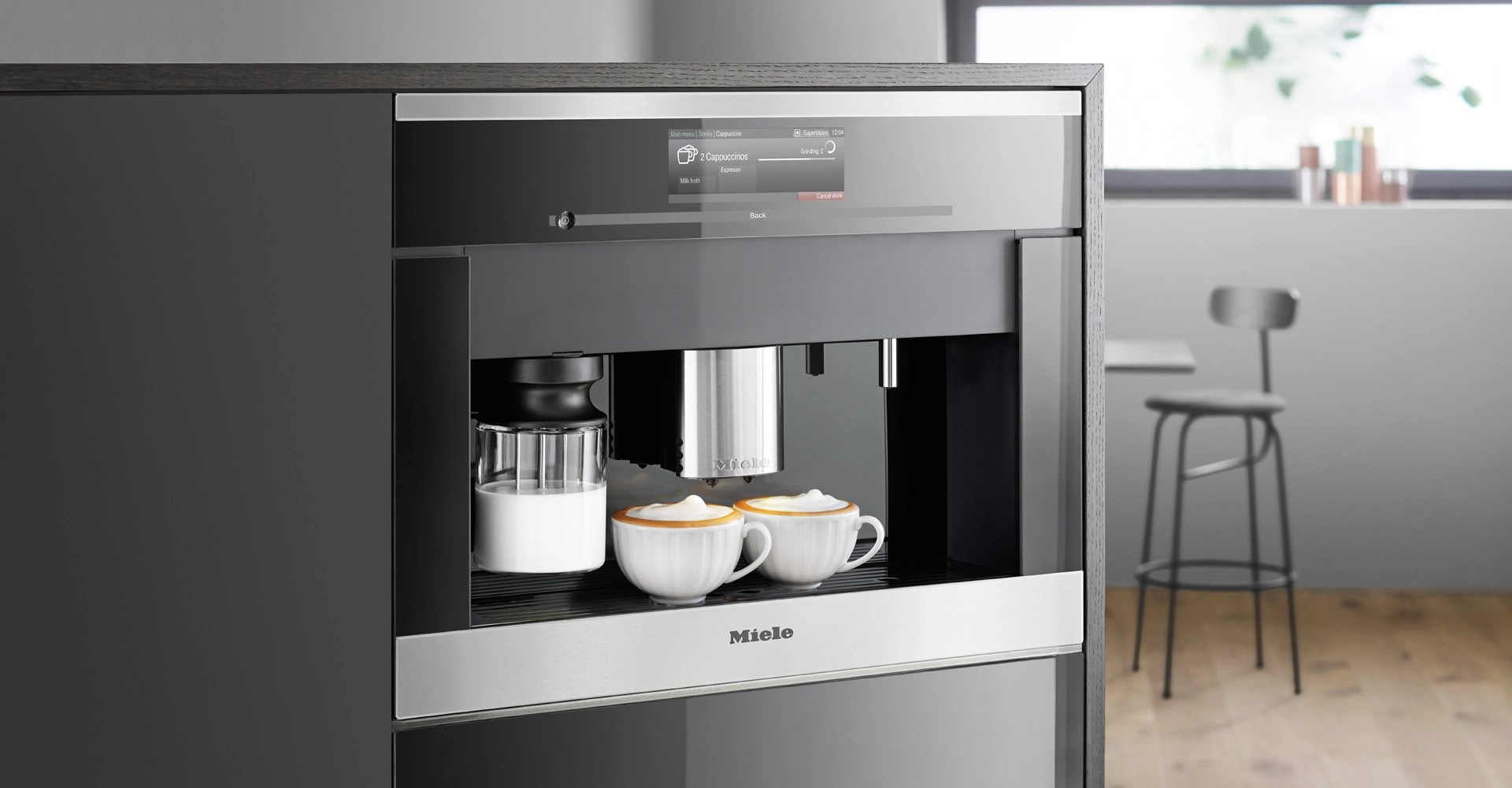 miele kitchen appliances design ideas avoid the morning coffee shops with a new built in machine from avenue appliance