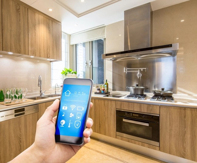bosch kitchen appliances island cabinets turn your edmonton home into a smart with the connect app avenue appliance