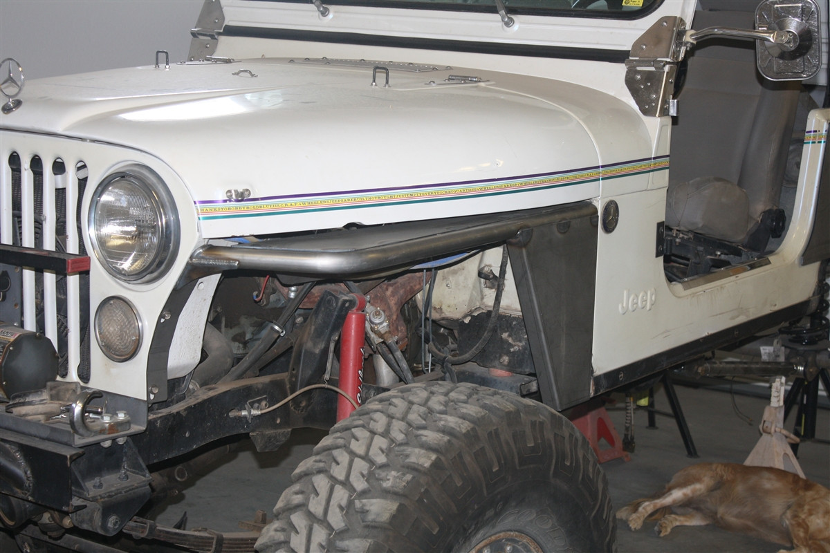 jeep cj tube fenders image 1 image 1 image 2  [ 1200 x 800 Pixel ]