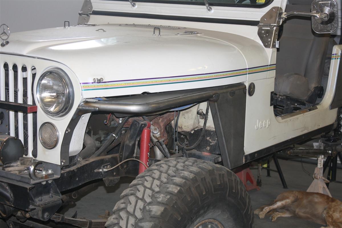 medium resolution of  jeep cj tube fenders image 1 image 1 image 2