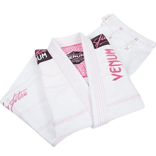 Venum challenger women   white and pink jiu jitsu gi thejiujitsushop also bjj the shop rh