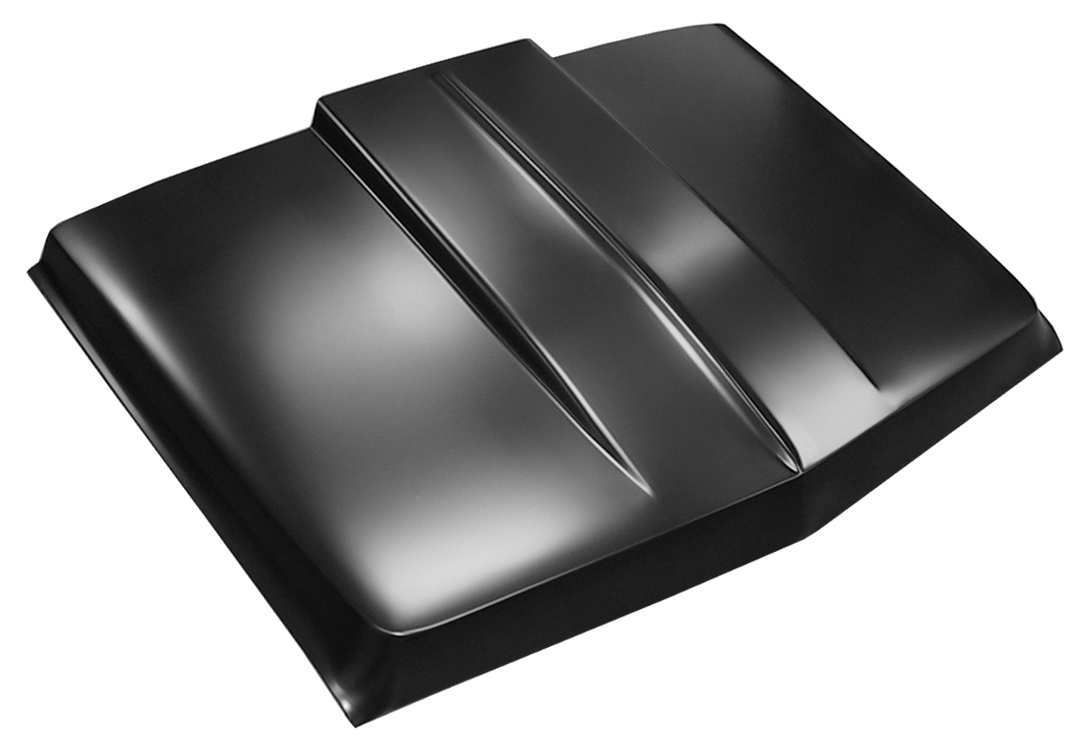 this 2 cowl induction style hood fits 1969 1972 chevy and gmc pickup trucks [ 1200 x 832 Pixel ]
