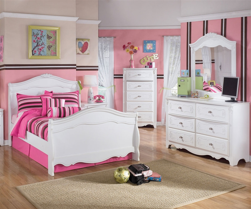 exquisite full size sleigh bed ashley furniture asb188 848788n
