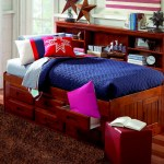 Discovery World Furniture Merlot Twin Size Bookcase Captain S Day Bed 2822 Children S Captain Daybeds With 6 Drawers Or 3 Drawers And Trundle Bed Storage Captain Day Beds At Kids Furniture Warehouse