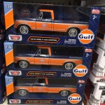 1979 Ford F 150 Pickup Truck Gulf Oil 1 24 Scale Diecast Model By Motor Max 79652