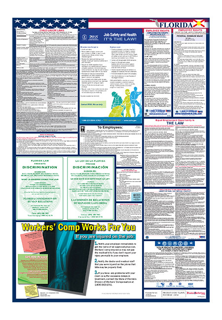 florida total labor law poster