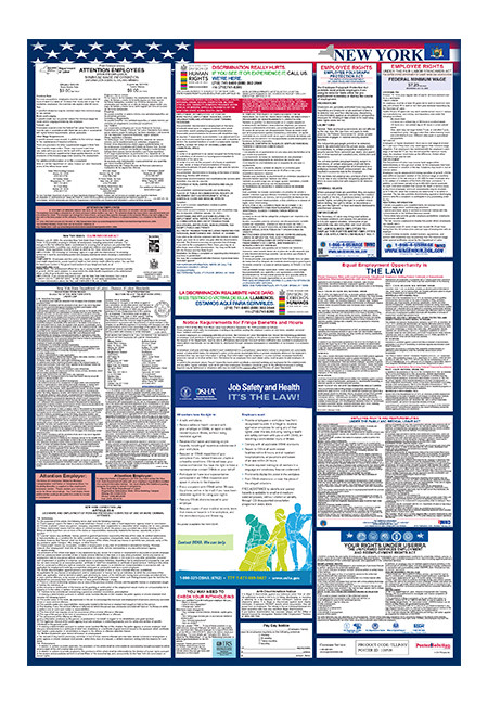 new york total labor law poster