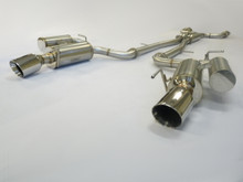 obx catback exhaust for 2008 to 2015 infiniti g37 g37x q60 s coupe sedan 3 7l v6